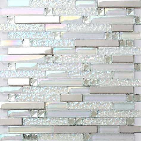 iridescent tile glass tile
