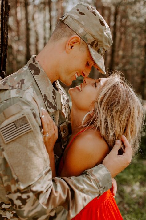 Adorable military proposal on How They Asked by The Knot!