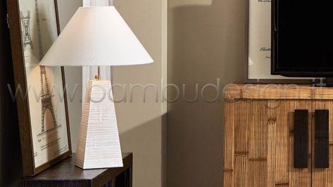 16 Ottime Idee Su Illuminazione Lampade Da Tavolo Abat Jour Etniche E D Atmosfera Teak Lampade Da Tavolo Lampade
