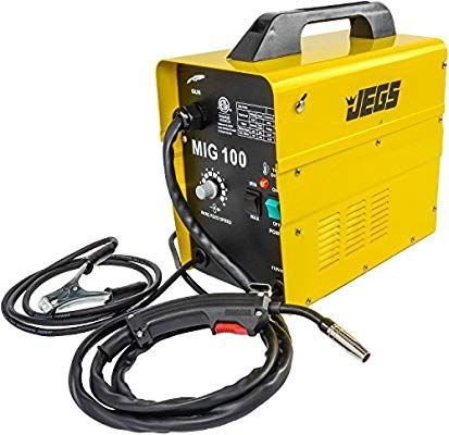 Amazon Com Jegs Performance Products 81540 Mig 100 Gasless Welder 110v Ac Automotive Mig Welder Welding Gasless Mig Welder