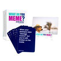 What Do You Meme Bsfw Edition Walmart Com What Do You Meme You Meme Memes