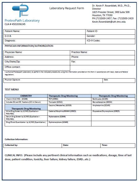 Lab Order Form Template 30 Free And Premium Templates To