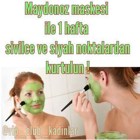 Maydonoz Maskesi Malzemeler 3 4 Dal Maydonoz 1 Adet Yumurta Aki 1