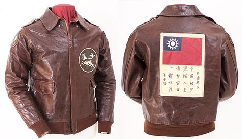 Fighter Squadron Jacket was worn by a unit active in the China-Burma-India theatre of reproduced using an original from Eastman's archive.