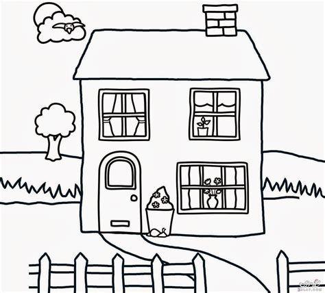 رسومات للتلوين 2018 اجمل المنازل للتلوين صور منازل للتلوين House Colouring Pages Coloring Pages Kindergarten Coloring Pages