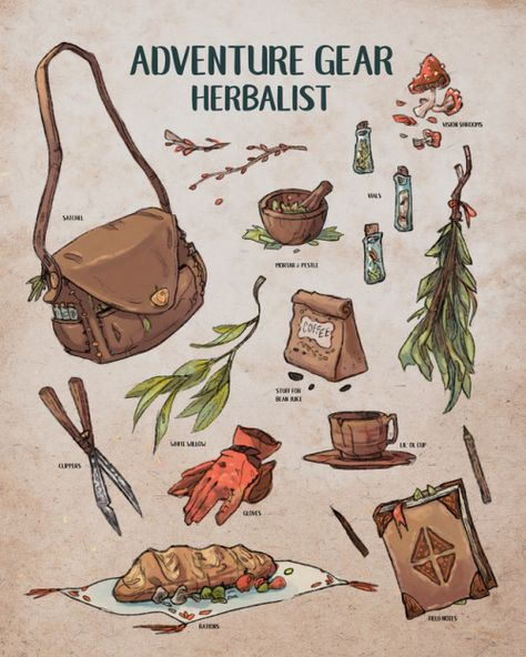 """sarahlindstromart: """"Little herbalist spreadsheet! """" This makes me want to play Ryuutama sarahlindstromart: """"Little herbalist spreadsheet! """" This makes me want to play Ryuutama Character Inspiration, Character Art, Fantasy Character Design, Illustration Inspiration, Baby Witch, Adventure Gear, Witch Art, Witch Aesthetic, Dnd Characters"""