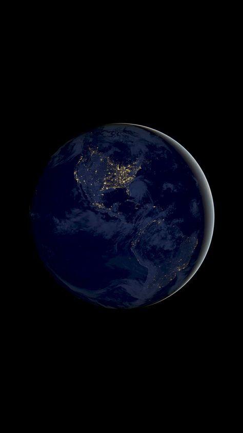 Earth Planet 4k Amoled Wallpaper Planets Wallpaper Black Phone
