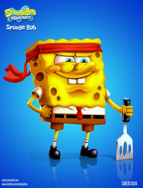 Sponge Bob, Carlos J S Silva