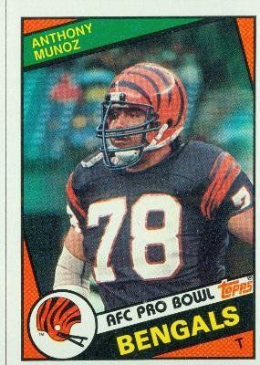 101d068dc77 1984 Topps #45 Anthony Munoz - Cincinnati Bengals (Football Cards) by Topps…