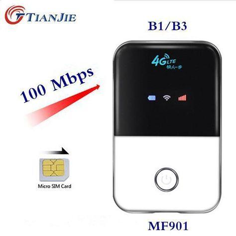 TIANJIE 4G Wifi Router Car Mobile Wifi