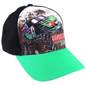 ac23b48d174 Grave Digger Youth Mud Truck Cap