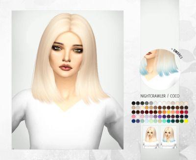 sims 4 hair | Tumblr | hobby sims | Sims 4, Sims, Sims 4 update