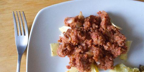 Hachis végétal à base de galette de riz :  http://www.vegactu.com/recettes/hache-vegetal-recette-de-lexcellent-livre-la-veganista-14334/