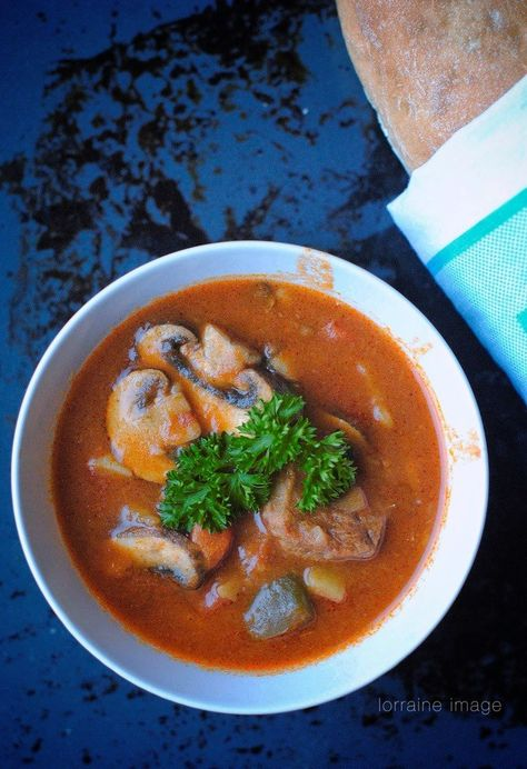Lo Foodie Goulash Comforting Bowl Of Soup For Cold Rainy Days