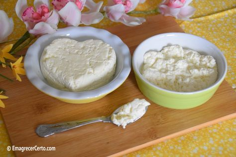 Como fazer queijo cottage e ricota - muito fácil