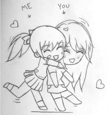 15 Ideas Drawing Girl Tumblr Kawaii Anime Art Drawing Drawings