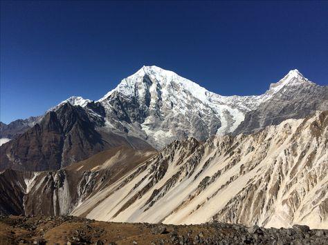 Yala Peak 5,732m. Climbing, Yala Peak Climb, Langtang Yala