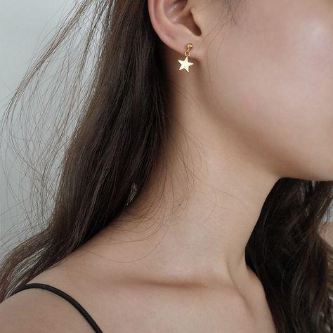 Stainless Steel Polished /& Brushed Finish Fancy Design Huggie Hoop Earrings 4mm x 9mm