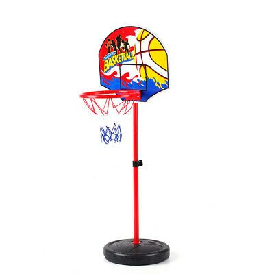 Details About 49 5 1cm Basketball Stands Height Adjustable Kids Basketball Goal Hoop Toy Jj Basketball Goals Kids Basketball Basketball Wall