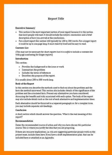 Short Business Report Template 4 Business Report Templates Janitor