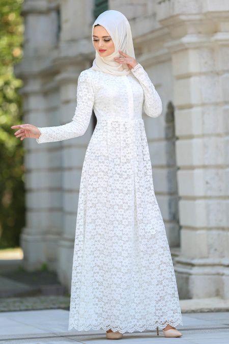 Boydan Gupurlu Tesettur Abiye Modelleri Elbise Uzun Elbise The Dress