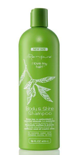 Renpure I Love My Hair Body Shine Shampoo Shampoo Body My Love