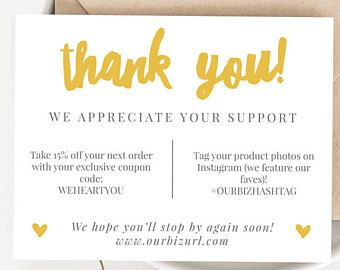 Image Result For Business Thank You Card Template Free Business Thank You Cards Business Thank You Notes Create Business Cards