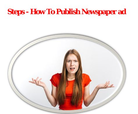 How to book Newspaper Ads Online - CTM