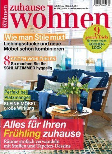 Ich Mochte Dir Die Zeitschrift Zuhause Wohnen Epaper Empfehlen Zuhause Wohnen Zeitschriften Lesen