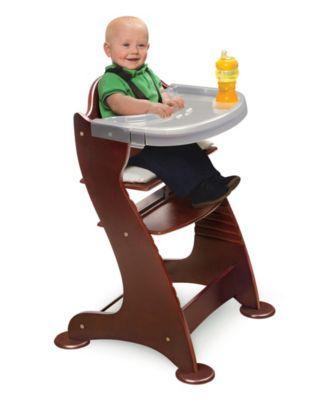 Badger Basket Unisex Embassy Adjustable Wood High Chair Reviews