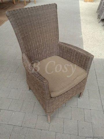 Gescova Firenze Dining Chair High Back Naturel R Mobilier De Salon Meuble Jardin Et Mobilier Jardin