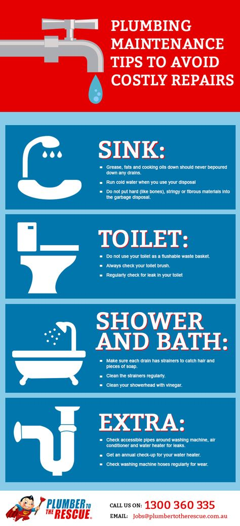 Follow these simple preventative plumbing tips to avoid costly plumbing repairs. www.acmeservicesstl.com