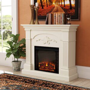 Alcott Hill Shanley Electric Fireplace Wayfair Electric