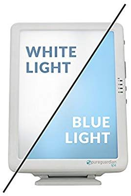 Amazon Com Pureguardian Spa50ca Light Therapy Lamp 10 000 Lux Full Spectrum Customizable Blue Or White Light I Therapy Lamp Light Therapy Lamps Light Therapy