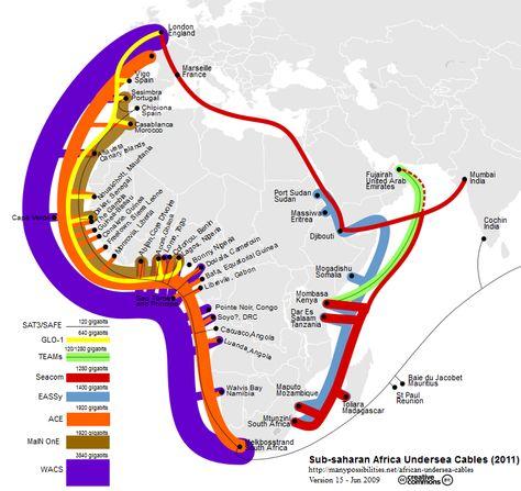 Sankey Diagrams   Map, Africa, Interactive map