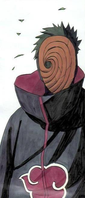 Obito Naruto Tobi Akatsuki Mask Tobimask Obitomask Anime