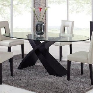 10 Unbelievable Ideas Of Modern Glass Dining Table Oval Glass Dining Table Oval Table Dining Glass Dining Table