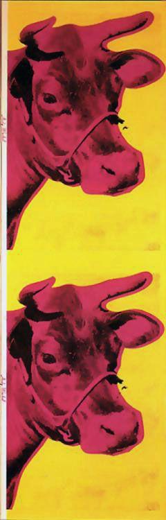 Andy Warhol - Cow Wallpaper | Pop Art