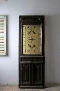 アンティーク アイアン飾り玄関ドア アンティーク ドア アンティーク ドア