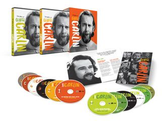 The Best Of George Carlin 12 Dvd Collection Time Life George Carlin Carlin Comedy Specials