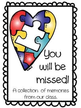 We Will Miss You Booklet Class Gift For Teachers Who Are Leaving Diy Teacher Gifts Teacher Gifts Student Teacher Gifts