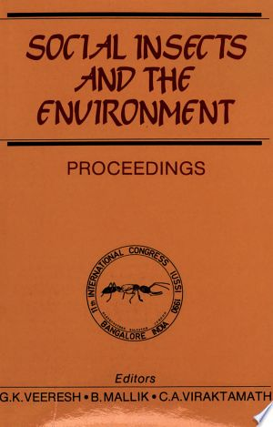 Social Insects And The Environment Pdf By International Union For