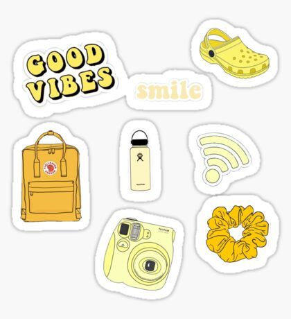 Vsco Stickers Aesthetic Stickers Stickers Hydroflask Stickers
