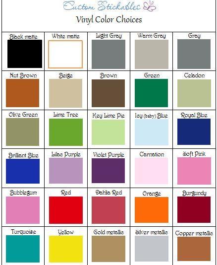 Cricut Silhouette Craft Adhesive Vinyl By Customstickables 5 00 Silhouette Crafts Cricut Chalkboard Vinyl