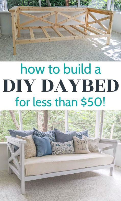 Diy Outdoor Furniture, Diy Furniture Projects, Diy Wood Projects, Furniture Makeover, Wood Furniture, Diy Bedroom Projects, Diy Projects For Home, Diy Home Furniture, Diy Crafts With Wood