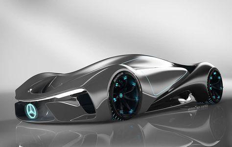 Mercedes Benz C 111 2025 Vision Desig Futuristic Cars Concept Car Design Benz C