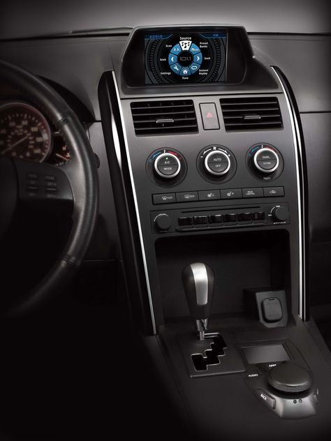 Garmin's multi-sensor controller concept for infotainment systems helps reduce driver distraction