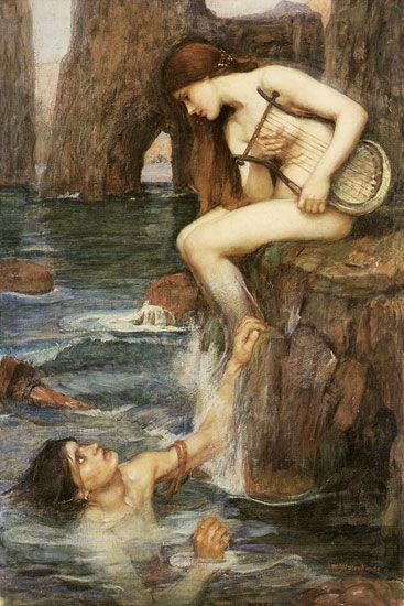 John William Waterhouse- Siren