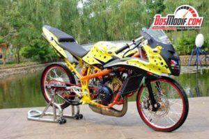 Modifikasi Ninja 150 Rr Thailook Style Terbaru Dapur Otomotif