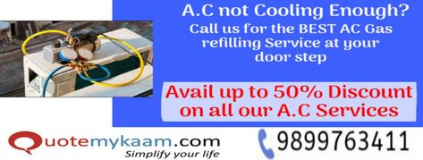 No 1 Ac Gas Refill Ac Top Up Ac Repair Services At Doorstep